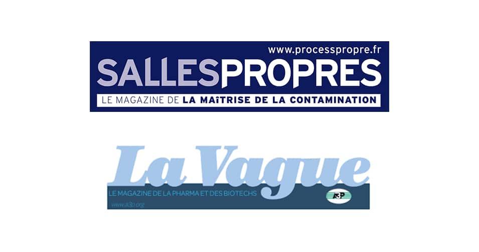 Articles THERAXEL–Magazines La Vague et Salles Propres
